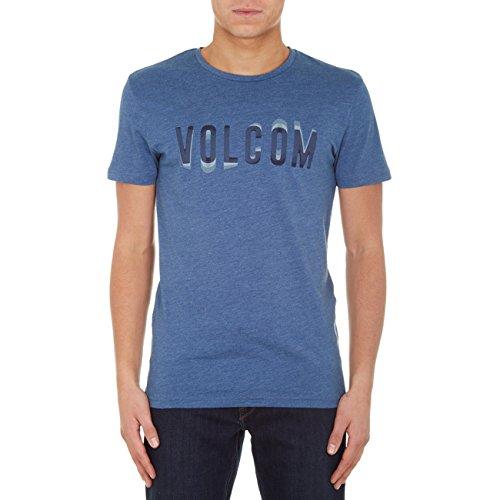 Volcom Herren Oberteile / T-Shirt Warble Blau