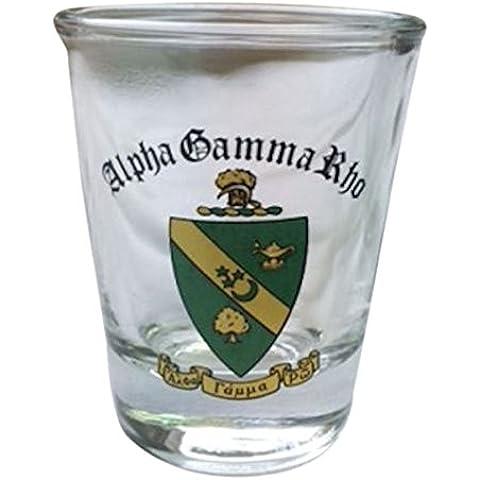 Alpha Gamma Rho Crest Shot Glass by Scotty