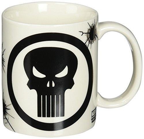 Zak! Designs Ceramic Mug with Marvel Extreme The Punisher Graphics, 11.5 oz. by Zak Designs