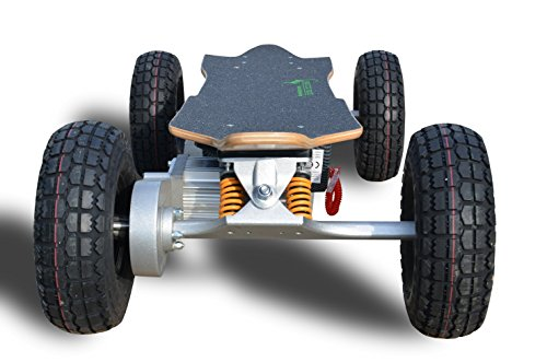 E-Skateboard GECCO 1300 - leistungsstarkes E-Skateboard mit ultimativer Power -