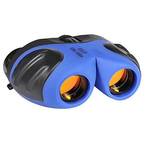 JOYOUTH Mini Fernglas Kompakt Falten Wasserdicht Ferngläser 8x21 Teleskop Fernglas für Kinder Vogelbeobachtung, Sport, Geschenk Wandern, Camping und Reisen (Blau)