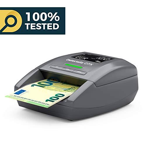 Detector de billetes falsos MÁS VENDIDO. Listo para los billetes nuevos de 100€ y 200€ de 2019. 100% pruebas oficiales en el Banco Central Europeo