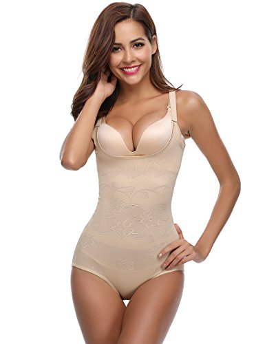 Aibrou Reduction Shape Woman Abdomen with Hook, Comfortable and Lightweight Corset Shape for Presuming of Good Seamless Figure