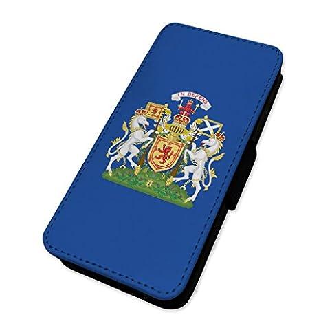 écossais Crest–Écosse patriotique indépendance Country–Housse à rabat Housse portefeuille Apple Iphone 7 Plus