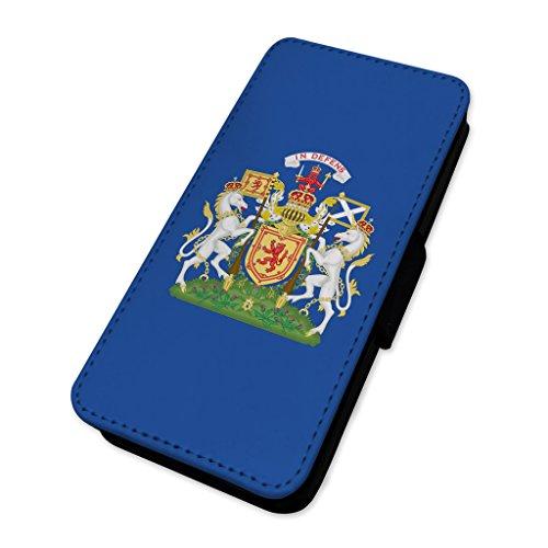 Scottish Crest–Scozia Patriotic indipendenza Country–Flip cover in pelle cover Apple Iphone 7