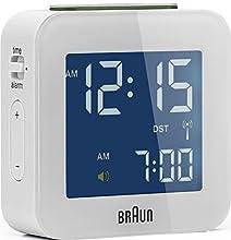 Braun BNC008, Radiosveglia multibanda, bianco