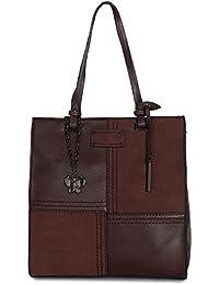 Butterflies Women Handbag (Coffee Brown) (BNS 2472#CFE)