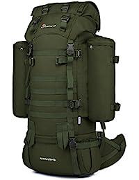 Mardingtop 65L/65+10L Rucksack Taktischer Rucksack Wanderrucksack Trekkingrucksack YKK Zipper mit der großen Kapazität