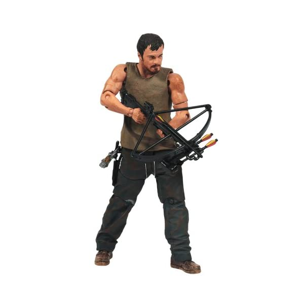 Mc Farlane - Figurine - The walking Dead - Série TV Pack Daryl et Merle Dixon serie 4 - 0787926144994 2