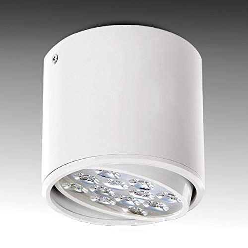 Greenice | Foco Downlight LED de Superficie Blanco 12W 1200Lm 30.000H |...