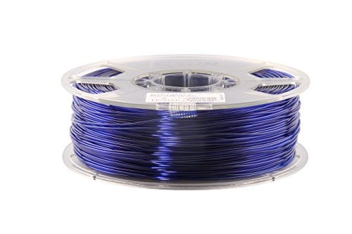 Filament en pETG eSun 3D 1 kg diamètre 1,75/3 mm au choix, tempe. 230–250 pression ℃, par exemple pour imprimante 3D makerBot mendel repRap makerGear ultimaker huxlep thing-o-matic, uP universal