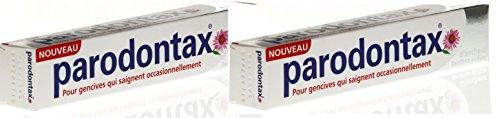 Parodontax Dentifrice Blancheur au Fluor Lot de 2 x 75 ml