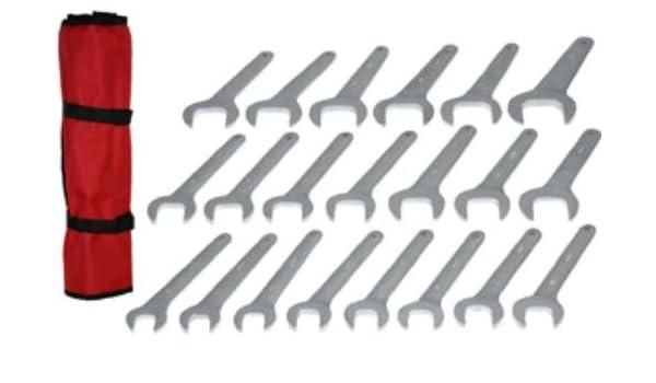Grip 21 pc Jumbo Service Wrench Set SAE
