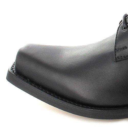 Sendra Boots 5717 Bikerschnürschuh Schnürer (in 2 Farben) Schwarz