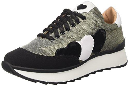 Twin Set CA7PK1, Sneaker a Collo Basso Donna, (Oro Free), 36 EU