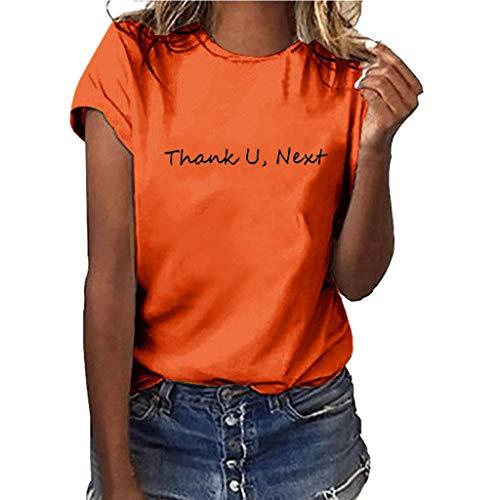 Yvelands-Damen Tops T-Shirt Mädchen Plus Size Print Shirt Kurzarm Bluse (Plus Size Schule Mädchen Halloween Kostüme)