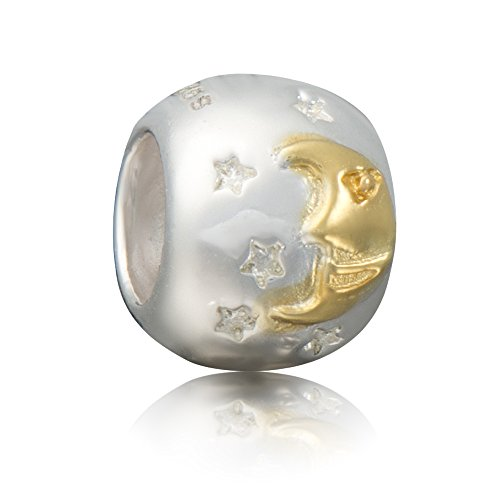 terling Silber Gold Bead