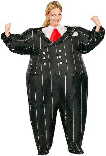 Playtastic Frauen-Kostüme: Selbstaufblasendes Kostüm 'Gentleman' (Aufblasbare Kostüme)