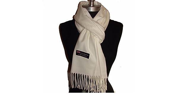 9PROUD cashmere scarf men women shawl plain solid made in Scotland Orange