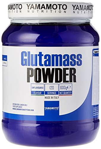 Yamamoto nutrition glutamass powder integratore a base di purissima l-glutammina in polvere 600 g