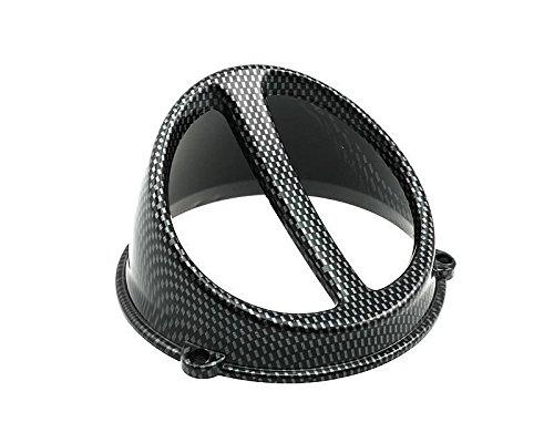 Lüfterspoiler Air Scoop Carbon-Look - universal (Seitenverkleidung Scoop)