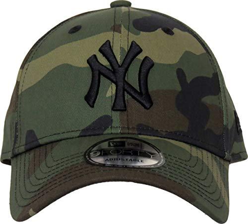 Imagen de a new era  de béisbol de camuflaje para niños york 940 york yankees 4 10 años  juventud 6 10 años  alternativa