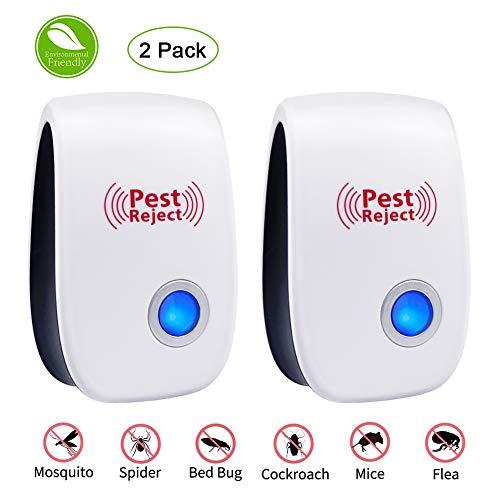 MAIKEHIGH Repellente per zanzare ad ultrasuoni Contro Parassiti, Repellente Elettronico per Zanzara,...