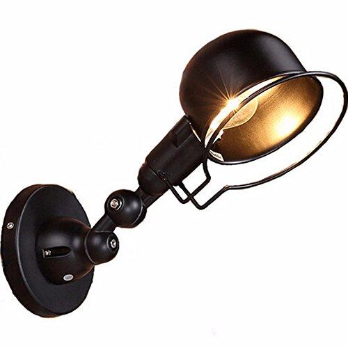 ZhZhCo Kreativraum Lampe Wohnzimmer Schlafzimmer Holz Nachttisch Dekorative Massivwand Wandleuchten