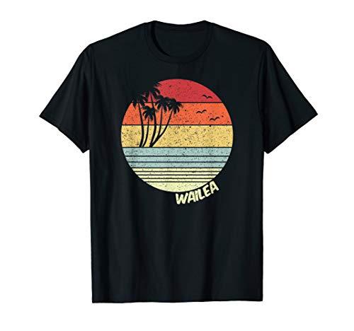 Wailea Hawaii Strand Urlaub Souvenir T-Shirt