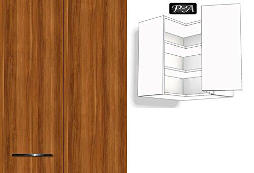 Küchenschrank Hängeschrank Eckschrank 2 Fachböden 60cm breit 72cm ... | {Eckschrank küche hoch 95}