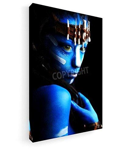 Fantasie - 50x75 cm - Leinwandbild auf Keilrahmen - Wand-Bild - Kunst, Gemälde, Foto, Bild auf Leinwand - (Avatar Home Kostüme)
