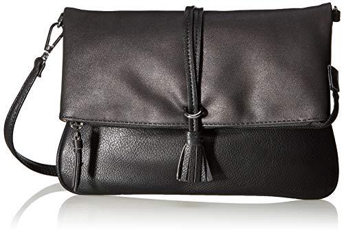 TOM TAILOR für Frauen Taschen & Geldbörsen Umhängetasche Shelly schwarz/Black, OneSize
