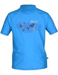 iQ-Company UV 300 Shirt Youngster Ocean - Camiseta con manga corta de natación para niños