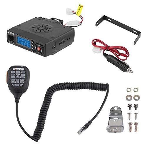 BJ-218 Mini Dual Band Auto Mobilfunk FM Transceiver 25 Watt Walkie Talkie Radio Team Gruppe Aufruf Mobilen Audio Audio-transceiver