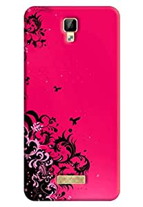 Gionee P7 Back Cover (3D Printed Designer Mobile Cover) By FurnishFantasy