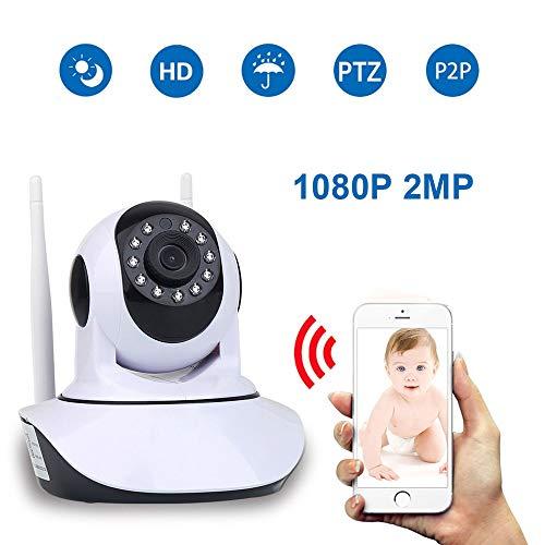 Home Security Hd 1080P 2Mp Ip Camera Wireless Samrt Mini Ptz Audio Video Camara Nanny CCTV WiFi Night Vision Ir Baby Monitor 1080P with 32G Sd