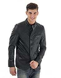 U.S.Polo Association Mens Casual Jacket (_8907259253565_Black_XX-Large_)