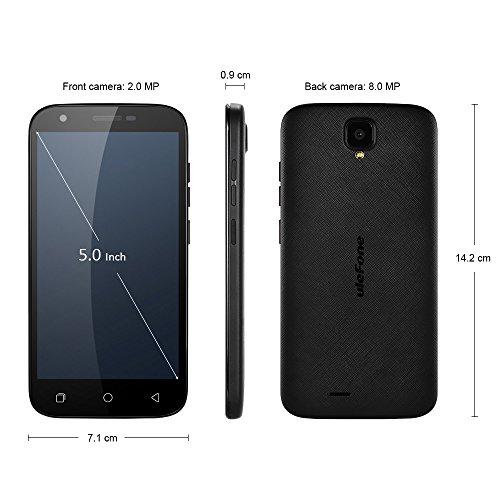 Ulefone U007 Pro Smartphone Libre 4G Android 6 0 C  mara 8 0MP 5 0   HD Pantalla MTK6735 Quad Core 1GB RAM 8GB ROM