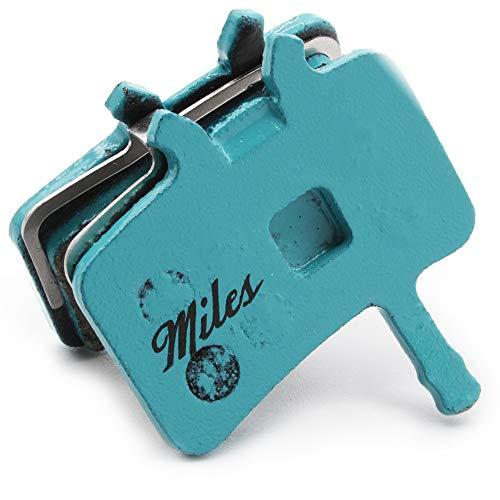 Miles Racing ® Scheibenbremsbeläge, semi-metallisch für Avid Juicy 3 5 7 | Carbon | Ultimate 7 | BB7
