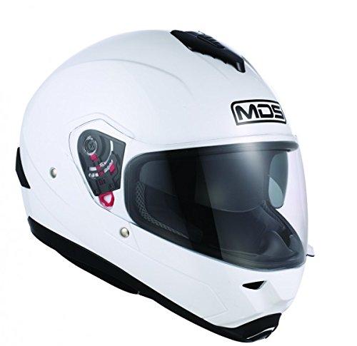 AGV Helmets Fullsun MDS E2205, color Blanco, talla M