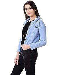 BuyDifferent Women Denim Jacket for Women and Girls