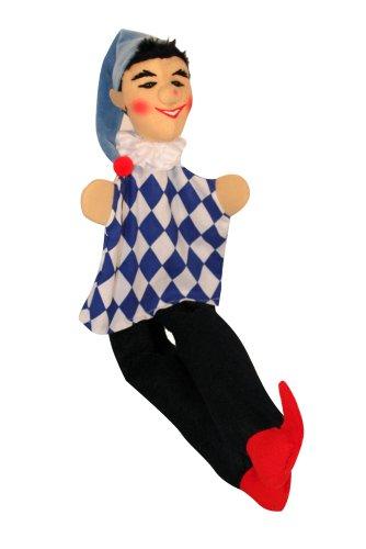 Kersa 12505 - Handpuppe, Kasperlepuppe Kasperl Bazi mit Beinen Kersa, 45 cm