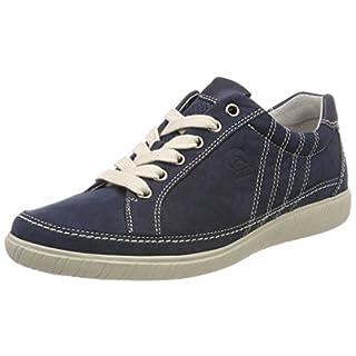 Gabor Shoes Damen Comfort Basic Derbys, Blau (Navy/Ocean), 35 EU
