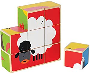 Hape Farm Animals Block Puzzle