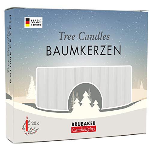 aumkerzen Wachs Weihnachtskerzen Pyramidenkerzen Christbaumkerzen Weiß ()