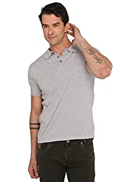 Donear NXG Grey Colour Solid T-Shirt