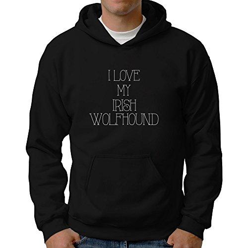 Eddany I love my Irish Wolfhound Hoodie (Irish Herren Wolfhound Hoodie)