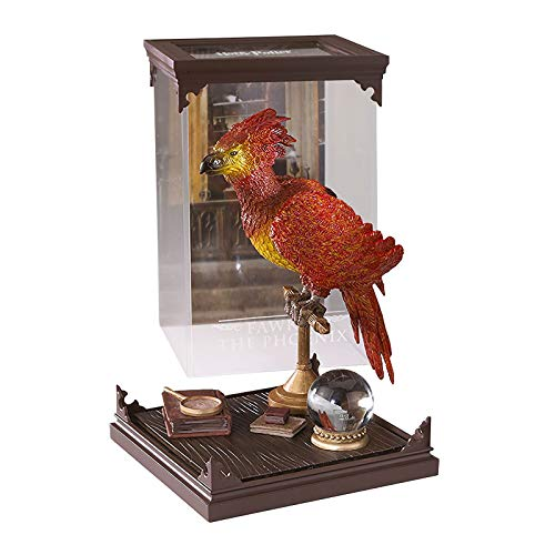 Noble Collection NN7540 Harry Potter Magische Kreaturen, Diorama: Fawkes der Phönix -