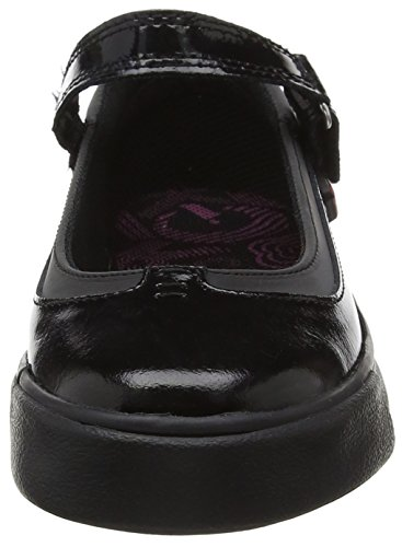 Kickers Tovni Mj, Mary Janes Fille Noir (Black)