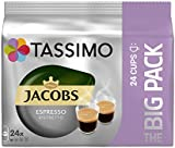 Tassimo Jacobs Espresso Ristretto Coffee , The Big Pack. 24 T- Discs, 24 Drinks